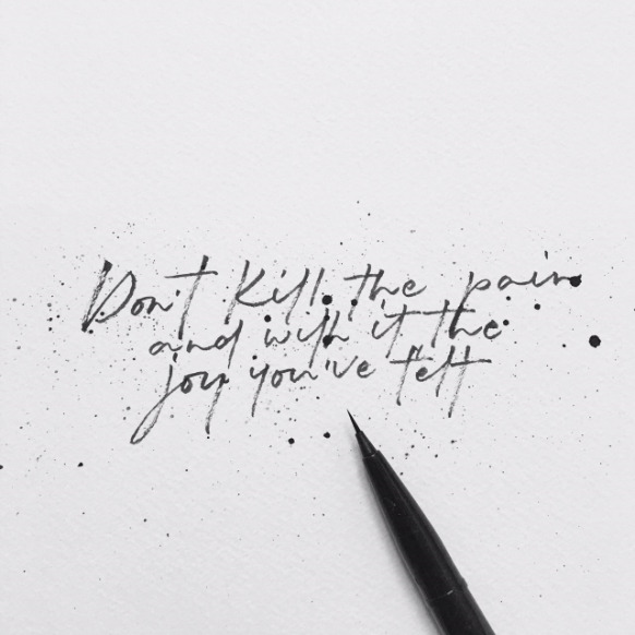 Calligraphy quote by frayart